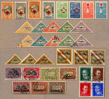 1921-31, Very Fine Lot With (35) Stamps, Many Complete Sets And Good Singles Such As SG 140-143 As Block Of (4) With Can - Estland