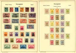 1920-24, Gehaltvolle Und Umfangreiche Spezialsammlung, Durchwegs Qualitativ Hochwertiges Material, In Der Ursprünglichen - Zonder Classificatie