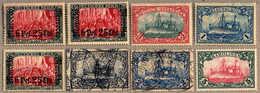 1890-1915, In Einem Album Zusammengestellt, Ausgepreist Zu 6.000 Euro, Gehaltvoll Mit Vielen Vorläufern Und In Durchwegs - Postzegels
