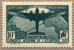 1936, 10 F., Prussian Green, Air Post, Extremely Fine Item, MNH, XF!. Estimate 820€. - Zonder Classificatie