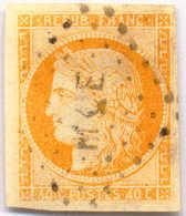 1871, 40 C., Pale Orange, Used In Martinique, (cancel MQE), VF!. Estimate 160€. - Zonder Classificatie