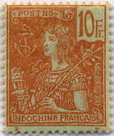 1904, 10 F., Red/green, M Not H, F!. Estimate 280€. - Frankrijk (oude Kolonies En Protectoraten)