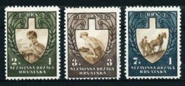 Croacia Nº 69/71 Nuevo Cat.16€ - Croacia