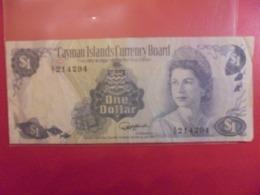 CAYMAN 1$ 1974 CIRCULER (B.9) - Isole Caiman
