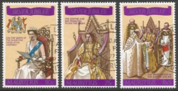 Mauritius. 1977 QEII Silver Jubilee. Used Complete Set. SG 516-518 - Mauritius (1968-...)