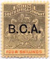 1891, 4 Sh., Grey-black And Vermillion, XF!. Estimate 120€. - Oficinas En  Marruecos / Tanger : (...-1958