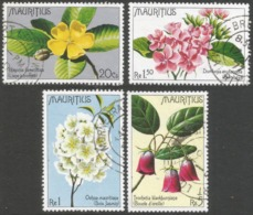 Mauritius. 1977 Indigenous Flowers. Used Complete Set. SG 519-522 - Mauritius (1968-...)