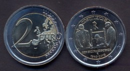 Italy 2 Euro 2018 UNC > 70 Years Since The Constitution Of Italy - Italy