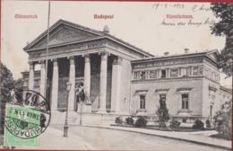 Hongarije Hongary Ungarn Hongrie Magyarorszag Budapest Mucsarnok Kunstlerhaus Musee Des Beaux Arts 1913 Old Postcard - Hongarije
