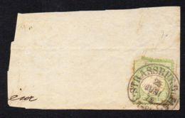ALLEMAGNE ,  BELLE  OBLITERATION  SUR  FRAGMENT  DU  25  JUIN  1872 , A  VOIR . - Non Classés
