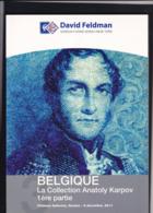 CATALOGUE DE VENTE FELDMAN  Collection KARPOV Premiere Partie - Catalogues For Auction Houses