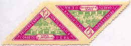 1931, 10 C., Magenta & Light Green, Pair, Imperf. In Between, MH,VF!. Estimate 200€. - Peru