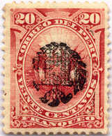 1881, 20 C., Brown Red, Chilean Occupation, Inverted Overprint, F!. Estimate 800€. - Peru