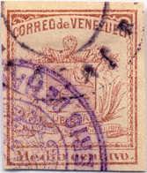 1862, 1/2 C., Dull Lilac, XF!. Estimate 300€. - Venezuela