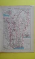 CARTE Du TOGO ET DAHOMEY Plan De Porto-Novo Et Lomé( BENIN)  1930 - Carte Geographique