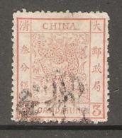 Timbre De 1878 ( Dragon ) - China