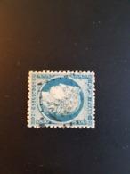 N°60 A,  25 Cts Bleu , GC 6356, Arromanches, Calvados. - Marcophilie (Timbres Détachés)