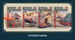 CENTRAL AFRICA 2016 - Special Transport, Sea-Doo - YT CV=18 €, 4360-3 - Jet Ski