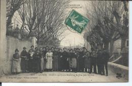 Livron-Chemin De Croix Blanche-Sortie Des Usines. - Altri Comuni