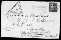 BELGIQUE , TIMBRE  BIEN  OBLITERE  SUR  FRAGMENT , A  VOIR . - Postmark Collection