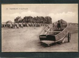 CPA - HARDELOT - La Plage, Animé - Barque - France