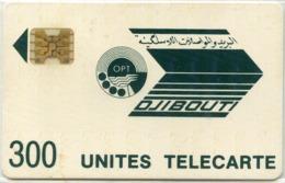 DJIBOUTI-N.6-300u-DARK GREEN LOGO-CN.8713 - Djibouti