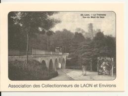 02 - LAON / ASSOCIATION DES COLLECTIONNEURS DE LAON ET ENVIRONS - CARTE DOUBLE 1999 - Laon
