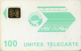 DJIBOUTI-N.11-100u-LIGHT BLUE LOGO-CN.24281 - Djibouti
