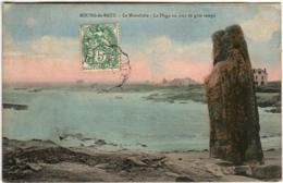31ksi 528 CPA - BOURG DE BATZ - LE MONOLITHE - Batz-sur-Mer (Bourg De B.)