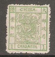 Timbre De 1878 ( Dragon ) - Nuevos