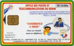 Benin 28b - 50 Unites Conference A TRois , Different Retro - Benin