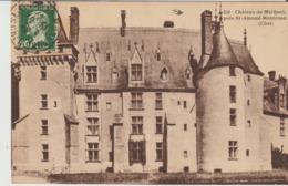 C. P. A. - CHÂTEAU DE MEILLANT PRES DE SAINT ARMAND MONTROND - 246 - HIRONDELLE - Meillant