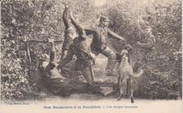 """1913  En Lorraine  """" Nos Douaniers  à La Frontière """" - Une Attaque émouvante .. Vers Royes / Nord - Dogana"""