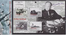 Débarquement En Normandie, 6 Juin 1944 - GIBRALTAR - Général Eisenhower, Troupes Et Matériels - BF N° 60 ** - 2004 - Gibilterra