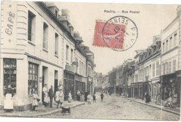76 Pavilly La Rue Postel (belle Animation) - Pavilly