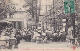 Cpa Dept 94 - La Varenne-chennevrières - Intérieur Du Restaurant De L'île D'amour ( Voir Scan Recto-verso) - France