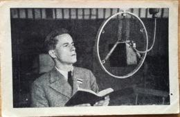 VALTER LOORITS 1940'ies RADIO BROADCAST Estonia Tallinn - Esperanto? - Estonie