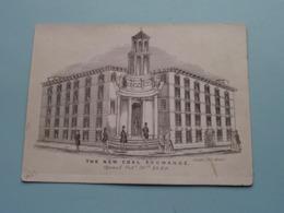 THE NEW COAL EXCHANGE Opened Oct. 30th 1849 / Clarke, 252 Strand ( Porcelein / Porcelaine ) Formaat +/- 15,5 X 11,5 Cm.! - Estampes & Gravures