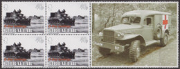 Débarquement En Normandie, 6 Juin 1944 - GIBRALTAR - Char Amphibie, Ambulance - N° 1084 ** - 2004 - Gibilterra