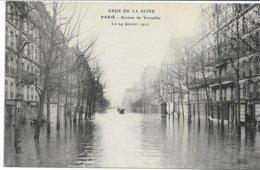 CPA PARIS  Crue De La Seine Avenue De Versailles  Le 29 Janvier 1910   édit ELD - Überschwemmung 1910