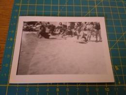 149795  VECCHIA FOTOGRAFIA Vita Da Spiaggia In Spiaggia - Barche