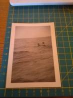 149796  VECCHIA FOTOGRAFIA Vita Da Spiaggia In Spiaggia - Barche