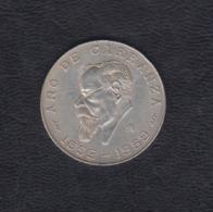 MÉXICO.  AÑO 1959.-   5 PESOS PLATA.  PESO 18,1 GR - México