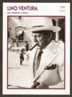 PORTRAIT DE STAR 1971 FRANCE - ACTEUR LINO VENTURA Dans BOULEVARD Du RHUM - ACTOR CINEMA FILM PHOTO - Fotos