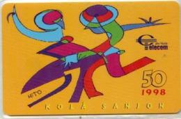 CAPO VERDE-CPV18-1998-50u-KOLA SANJON - Capo Verde