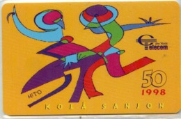 CAPO VERDE-CPV18-1998-50u-KOLA SANJON - Kaapverdische Eilanden