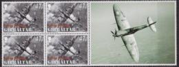 Débarquement En Normandie, 6 Juin 1944 - GIBRALTAR - Avions: Avfo Lancaster, Spitfire - N° 1086 ** - 2004 - Gibilterra