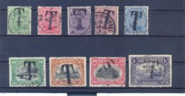 TX17/TX25 Gestempeld (used) - Briefmarken