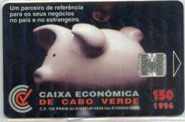 CAPO VERDE-CPV12-1996-150u-CAIXA ECONOMICA - Capo Verde