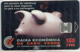CAPO VERDE-CPV12-1996-150u-CAIXA ECONOMICA - Kaapverdische Eilanden